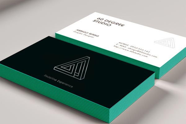 Business Cards in Paisley